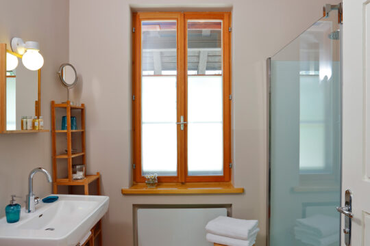 Badezimmer Apartment Himmelstreppe