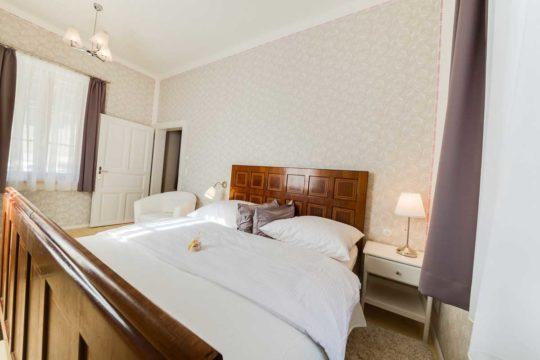Schlafzimmer Ferienwohnung Himmelstreppe