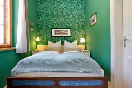 Schlafzimmer Ferienwohnung Ötscherbär